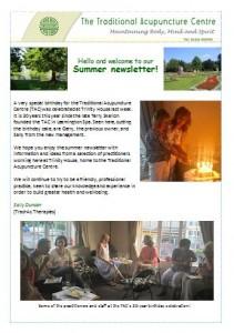 Summer 2017 clinic newsletter